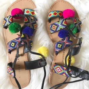 Chinese Laundry sandals💛✨💚✨💙